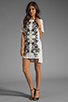 Image 2 of Style Stalker Parallel Universe Dress in Black/White Floral