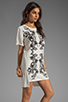 Image 3 of Style Stalker Parallel Universe Dress in Black/White Floral