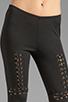 Image 4 of Style Stalker Robocop Leggings in Black