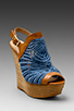 Image 2 of Steven Jacks Wedge Sandal in Blue