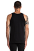 Image 3 of Stampd USA Tank in Black