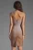 Image 4 of Stretta Ciara Dress in Beige Ombre