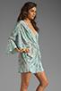 Image 3 of Talulah Drape Dress in Blue Horizon