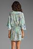 Image 4 of Talulah Drape Dress in Blue Horizon