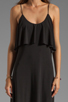 Image 5 of T-Bags LosAngeles Detail Back Maxi Dress in Black