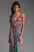 Image 1 of T-Bags LosAngeles Back Detail Maxi in Multi