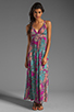 Image 2 of T-Bags LosAngeles Back Detail Maxi in Multi
