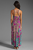 Image 4 of T-Bags LosAngeles Back Detail Maxi in Multi
