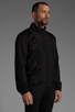 Image 3 of T by Alexander Wang Swim Nylon Mesh Inside Out Jacket in Black