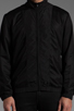 Image 5 of T by Alexander Wang Swim Nylon Mesh Inside Out Jacket in Black