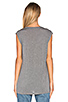 Image 3 of T by Alexander Wang Classic Muscle T in Heather Grey