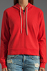 Image 3 of TEXTILE Elizabeth and James 1/2 Zip Perfect Sweatshirt in Strawberry
