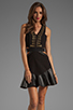 Image 1 of Three Floor Holy Chic Dress in Black