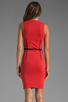 Image 4 of Thatcher Trace Sleeveless Dress in Punch