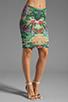 Image 1 of Thatcher Minimalist Tube Skirt in Botanical Garden