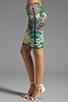 Image 2 of Thatcher Minimalist Tube Skirt in Botanical Garden