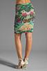 Image 3 of Thatcher Minimalist Tube Skirt in Botanical Garden