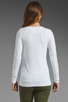 Image 3 of Theory Encase Brioan Top in White