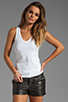 Image 1 of Theory Encase Jiante Tank in White