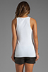 Image 2 of Theory Encase Jiante Tank in White