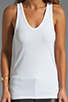 Image 3 of Theory Encase Jiante Tank in White