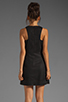 Image 4 of Tibi Pai Cut Out Sleeveless Dress in Black