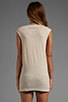 Image 3 of The Laundry Room Praise Cheetah Muscle Tee in Nude