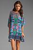 Image 1 of Tolani Emily Dress in Purple Ikat