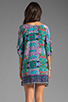 Image 4 of Tolani Emily Dress in Purple Ikat