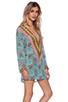 Image 2 of Tolani Katrina Hoodie Dress in Cylinders