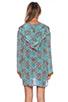 Image 3 of Tolani Katrina Hoodie Dress in Cylinders