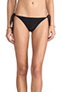 Image 1 of Tori Praver Swimwear Sage Bikini Bottom in Black