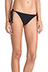 Image 2 of Tori Praver Swimwear Sage Bikini Bottom in Black