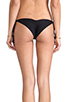 Image 3 of Tori Praver Swimwear Sage Bikini Bottom in Black