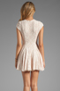 Image 4 of Torn by Ronny Kobo Cristal Lace Dress in Pink