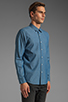 Image 2 of TOVAR Nathan Button Up in Chambray