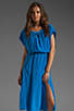 Image 1 of Tracy Reese Cocoon Dress in Aquarian