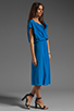 Image 3 of Tracy Reese Cocoon Dress in Aquarian