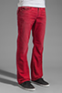 Image 2 of True Religion Ricky Straight Leg in Red