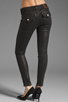 Image 3 of True Religion Serena Glitter Coated Skinny in Black