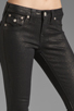Image 4 of True Religion Serena Glitter Coated Skinny in Black