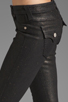 Image 5 of True Religion Serena Glitter Coated Skinny in Black