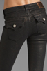 Image 6 of True Religion Serena Glitter Coated Skinny in Black