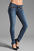 Image 1 of True Religion Stella Lower Rise Skinny in Whiskey Blue