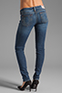 Image 3 of True Religion Stella Lower Rise Skinny in Whiskey Blue