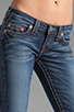 Image 4 of True Religion Stella Lower Rise Skinny in Whiskey Blue