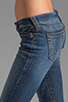 Image 5 of True Religion Stella Lower Rise Skinny in Whiskey Blue