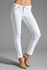 Image 1 of True Religion Serena High Rise Super Skinny in Optic White