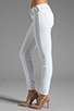 Image 2 of True Religion Serena High Rise Super Skinny in Optic White