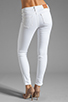 Image 3 of True Religion Serena High Rise Super Skinny in Optic White